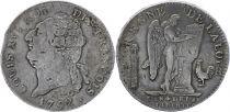 France Ecu de 6 Livres - Convention -   1792 R Orléans - Silver