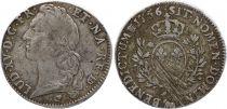 France Ecu du Béarn - Louis XV aux branches d\'olivier - 1759 Pau - TB+
