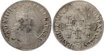 France Ecu Louis XIV with double crowned L in cruciform - 1704 9