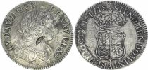France Ecu Louis XV - Ecu of France-Navarre