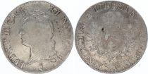 France Ecu Louis XV à la vieille tête  - 1773 Pau