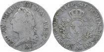 France Ecu Louis XV a la Vieille Tete - 1771 M Toulouse