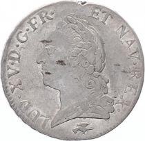 France Ecu Louis XV à la Vieille Tête - 1772 D