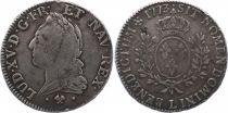 France Ecu Louis XV à la Vieille Tête - 1773 L