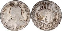 France Ecu Louis XV arms of France with sprays - 1730 X Amiens