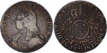 France Ecu Louis XV arms of France with sprays - 1732 R