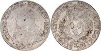 France Ecu Louis XV arms of France with sprays - 1732 X Amiens