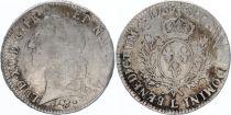 France Ecu Louis XV au Bandeau - 1766 L