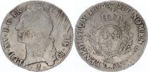 France Ecu Louis XV au Bandeau - 1766 Pau