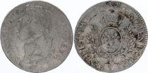 France Ecu Louis XV aux Bandeau - 1756 Y