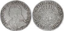 France Ecu Louis XV aux branches d\'olivier - 1726 - 9 Rennes  Argent