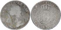 France Ecu Louis XV aux branches d\'olivier - 1726 A 2 em ex