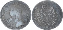 France Ecu Louis XV aux branches d´olivier - 1726 AA