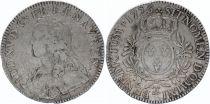 France Ecu Louis XV aux branches d\'olivier - 1726 Besançon