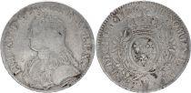 France Ecu Louis XV aux branches d\'olivier - 1726 W
