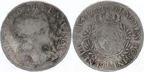 France Ecu Louis XV aux branches d\'olivier - 1727 L