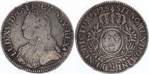 France Ecu Louis XV aux branches d\'olivier - 1728 M TOULOUSE
