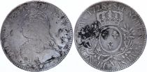 France Ecu Louis XV aux branches d\'olivier - 1728 X AMIENS