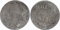 France Ecu Louis XV aux branches d\'olivier - 1729 A