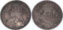 France Ecu Louis XV aux branches d\'olivier - 1729 S REIMS