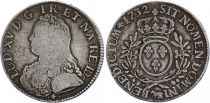 France Ecu Louis XV aux branches d\'olivier - 1732 Pau