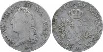 France Ecu Louis XV Old Head - 1771 M Toulouse