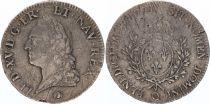France Ecu Louis XV Old Head - 1771 Q Perpignan
