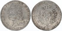 France Ecu Louis XV Old Head - 1772 D