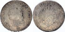 France Ecu Louis XV Old Head - 1773 Q Perpignan