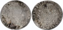 France Ecu Louis XV with head band - 1756 Pau