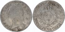 France Ecu Louis XV with head band - 1757 Pau