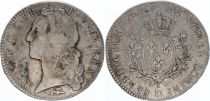 France Ecu Louis XV with head band - 1763 D