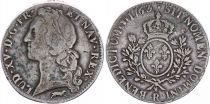 France Ecu Louis XV with head band - 1763 R Orléans