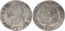France Ecu Louis XV with head band - 1766 Pau