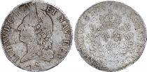 France Ecu Louis XV with old head - 1774 A Paris