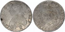 France Ecu Louis XVI arms of France with sprays -  1784 K