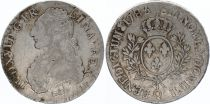 France Ecu Louis XVI arms of France with sprays - 1785 Q