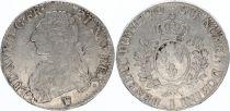 France Ecu Louis XVI aux branches d\'olivier  -  1790 I