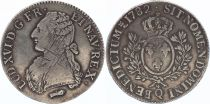 France Ecu Louis XVI aux branches d\'olivier  - 1782 Q Perpignan