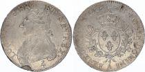 France Ecu Louis XVI aux branches d\'olivier  - 1784 A Paris
