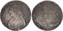 France Ecu Louis XVI aux branches d\'olivier  - 1784 I - Limoge