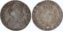 France Ecu Louis XVI aux branches d\'olivier  - 1785 Pau 2 em