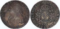 France Ecu Louis XVI Olive branch - 1776 L Bayonne