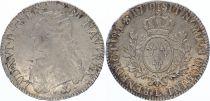France Ecu Louis XVI Olive branch - 1777 L Bayonne