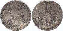 France Ecu Louis XVI Olive branch - 1780 M Toulouse