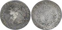 France Ecu of Béarn - Louis XVI - Arms of France with sprays - 1781 Pau - F to VF