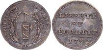 France Essai au Faisceau et Bonnet Phrygien - 1792 - Monnaie de confiance