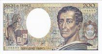 France F.70/2.1 P.155 200 Francs, Montesquieu - 1994 Série T.166
