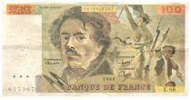 France Faux 100 Francs Delacroix - 1983