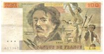 France Faux 100 Francs Delacroix - 1983